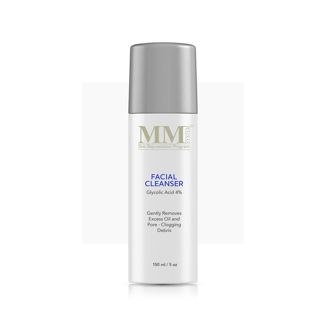Facial Cleanser 4% - Очищающий гель для лица с гликолевой кислотой 4%