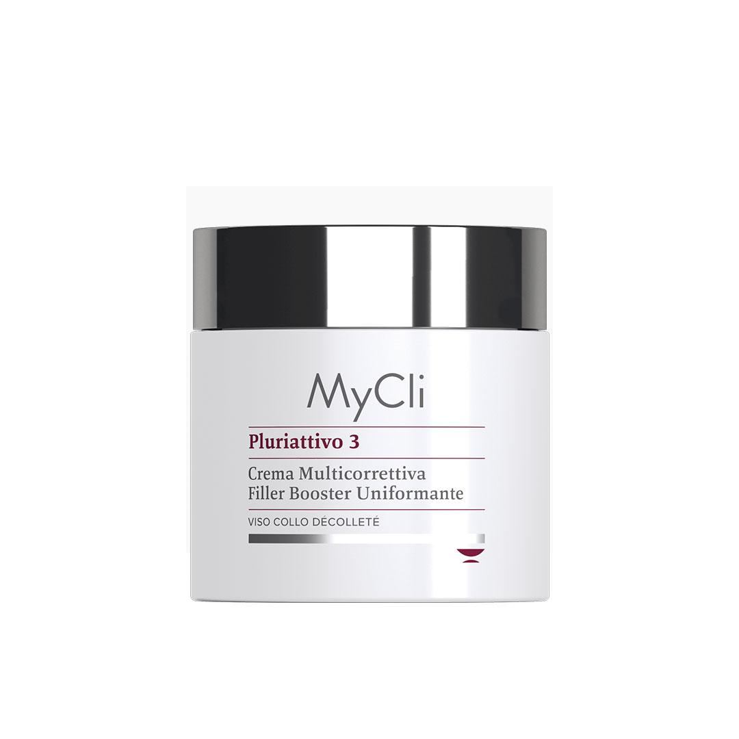 MyCLI Pluriattivo 3 Multi-corrective Filler Booster Cream - Антивозрастной крем-филлер