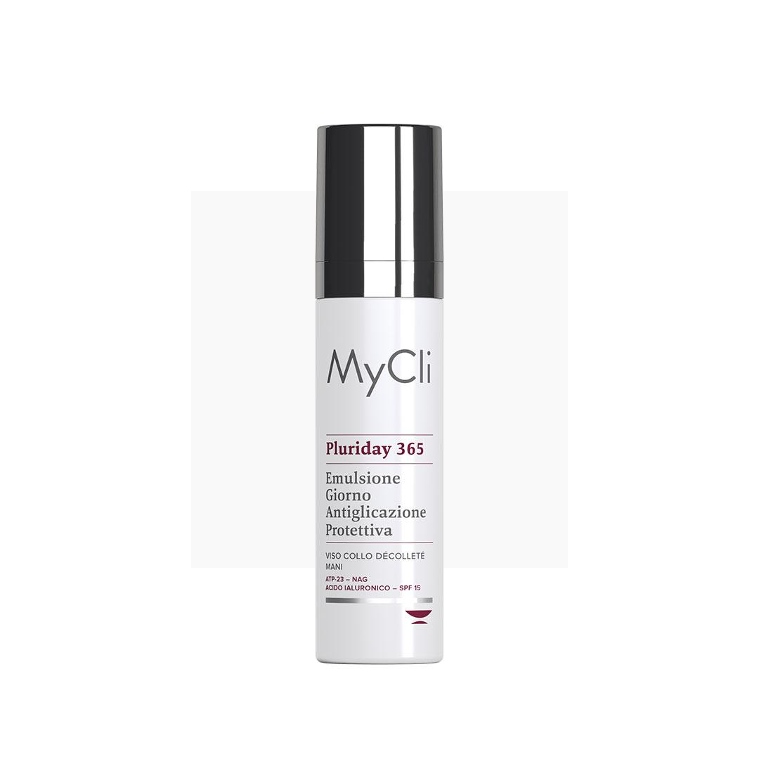 MyCLI Pluriday 365 Anti-glycation Protective Day Emulsion - Защитная эмульсия для лица и контуров глаз