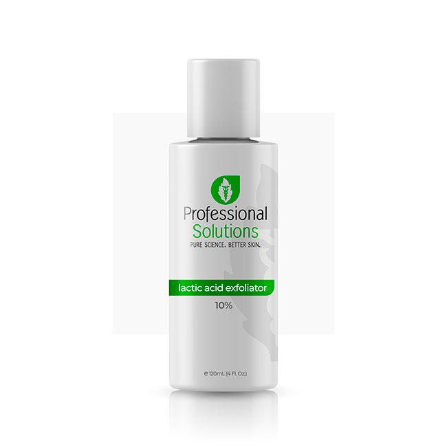 Lactic Acid Exfoliator 10% - Отшелушивающее средство с молочной кислотой 10%